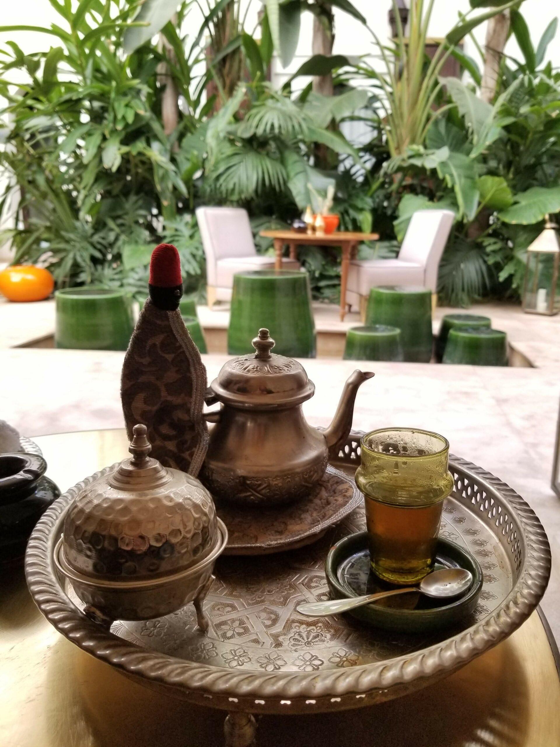 Welcome Moroccan tea