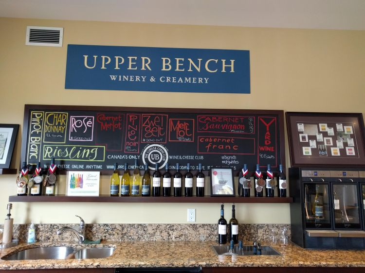 Upper Bench Tasting Room