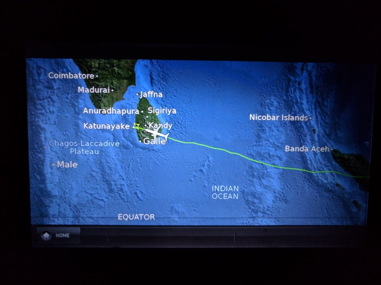 KUL-CMB on Malaysian Airlines