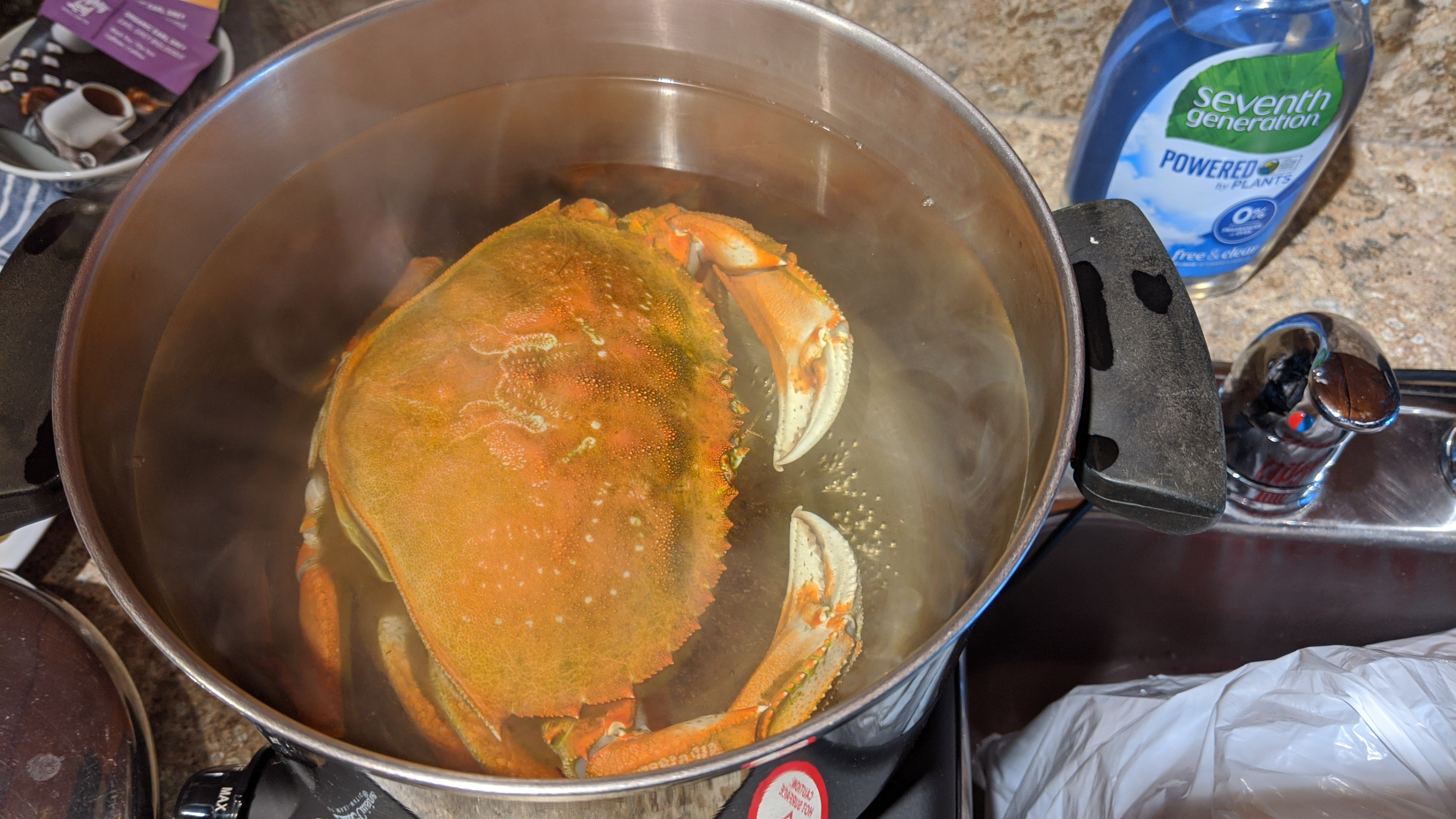 The Crab Lady: We cooked the crab at The Shoreline