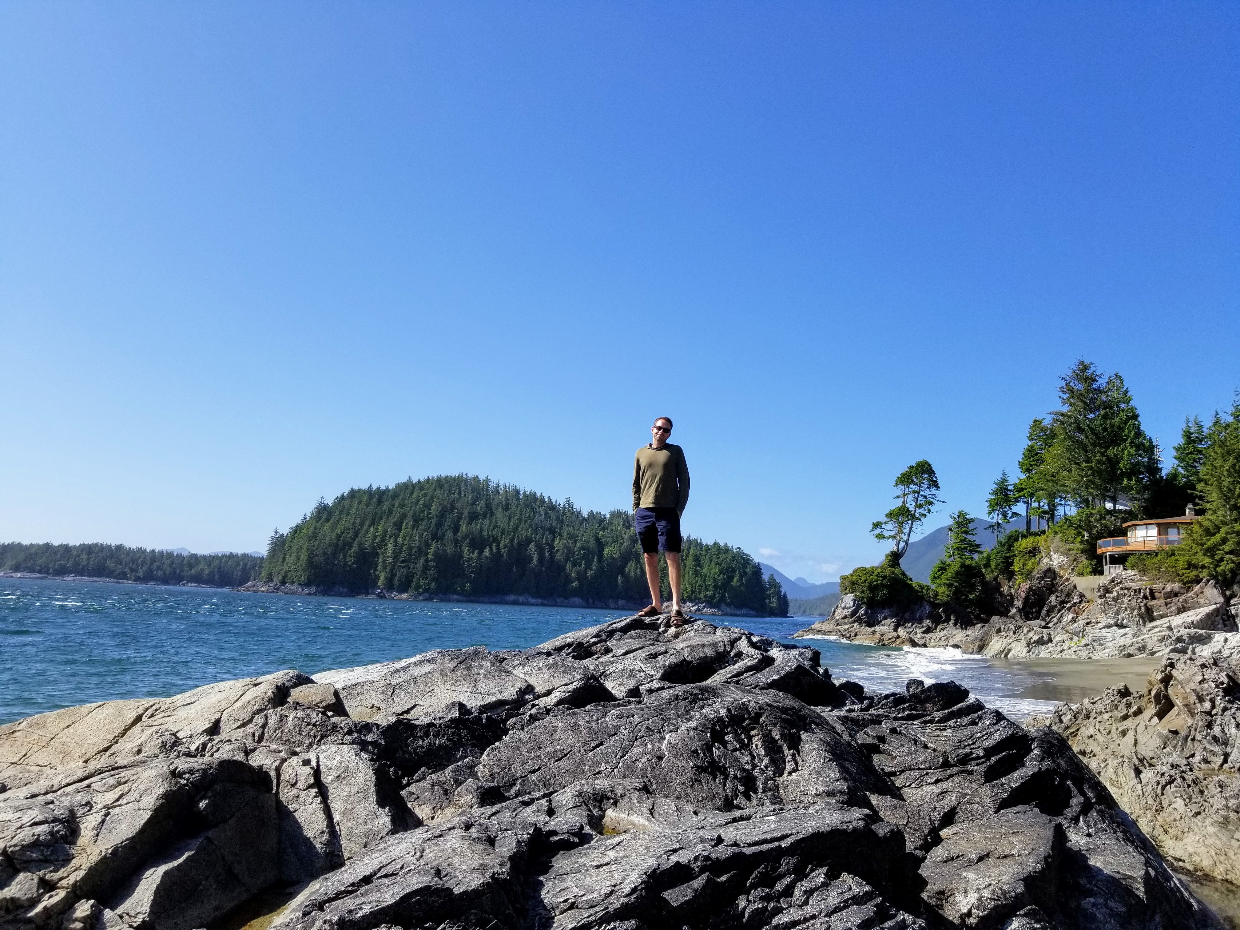 Jason at Tonquin Beach