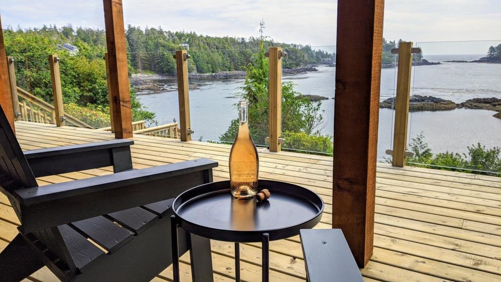 378 Marine Drive Guest House: deck