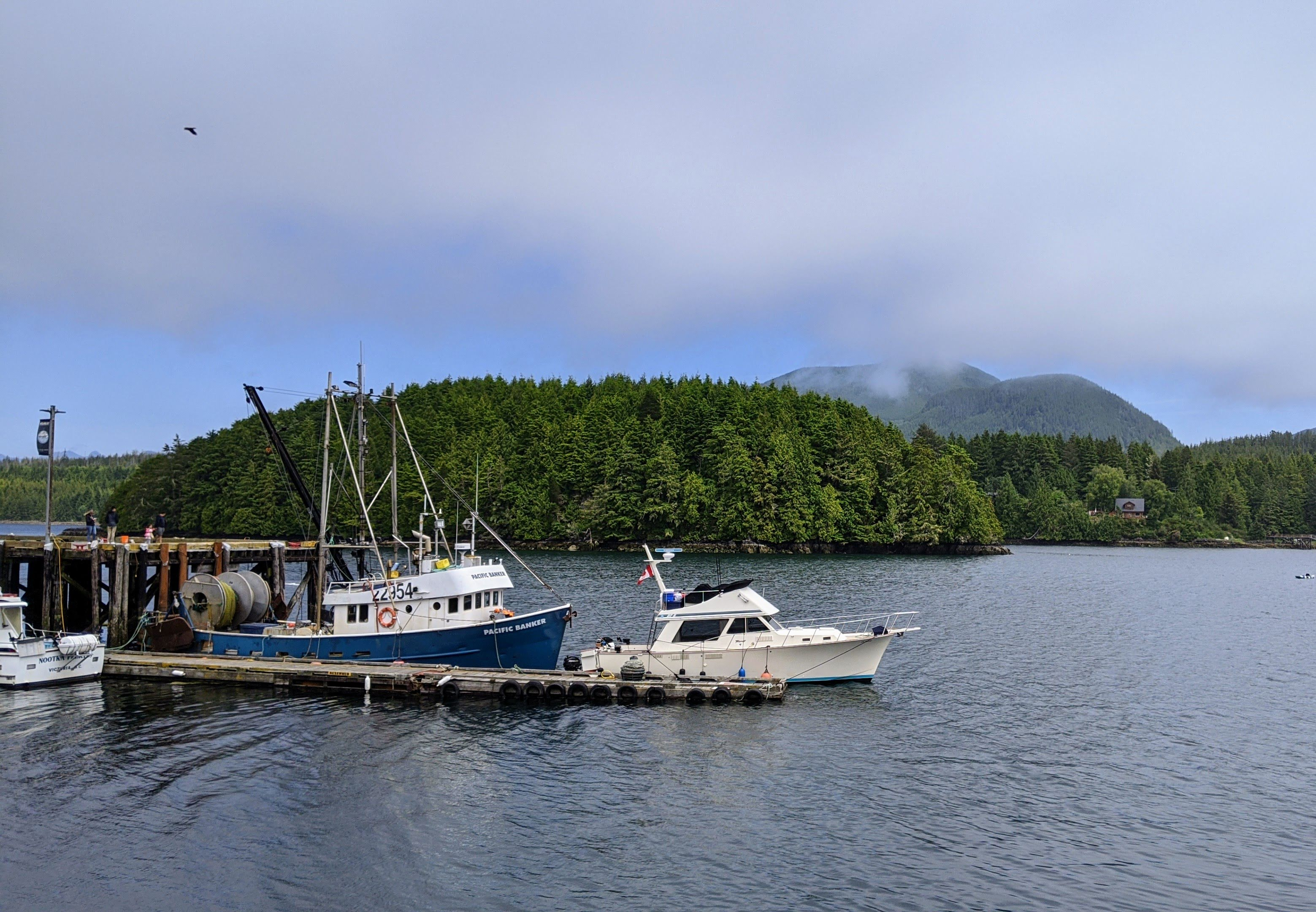 The Harbour in Ucluelet