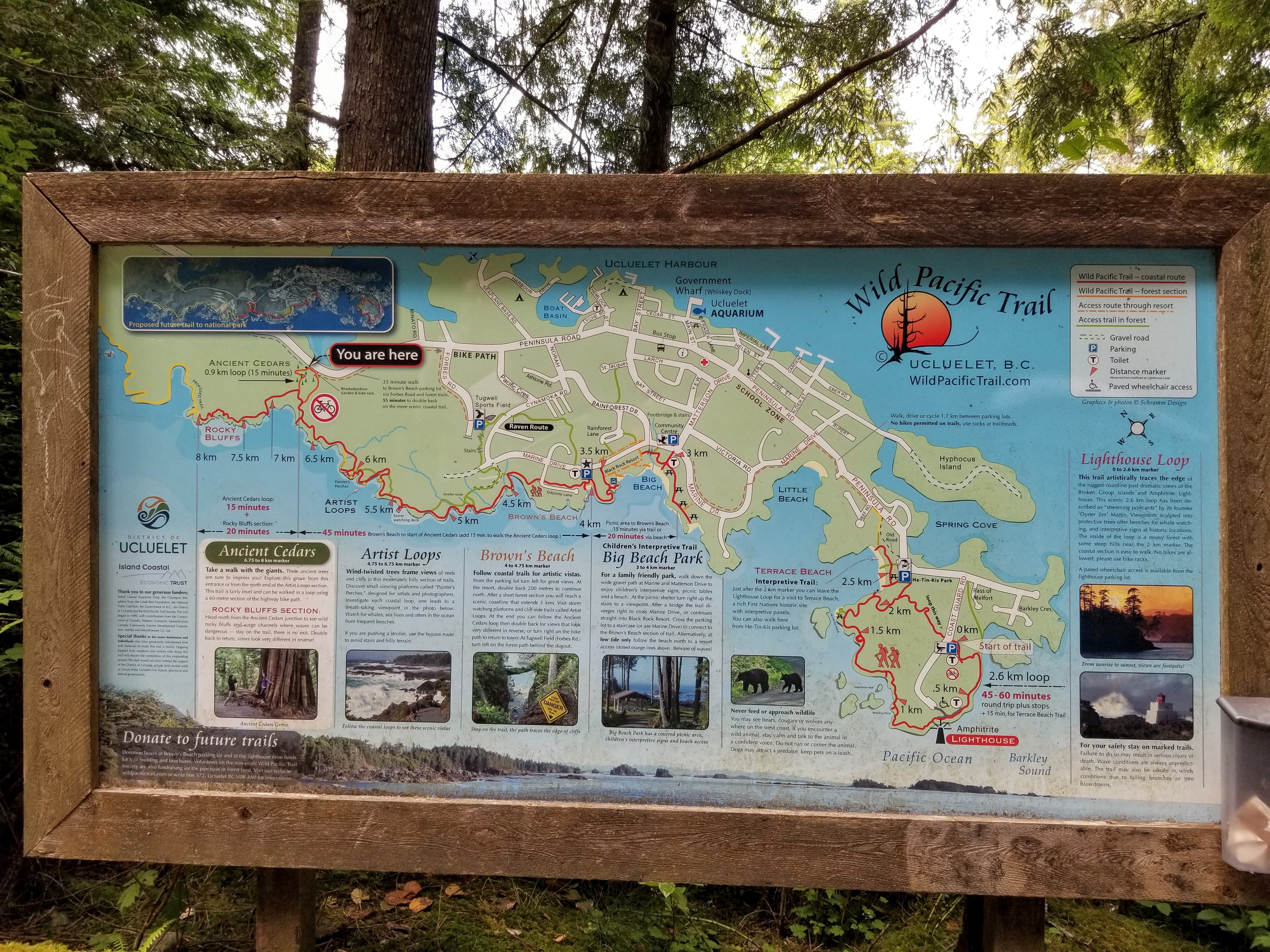 A Map of the Wild Pacific Trail