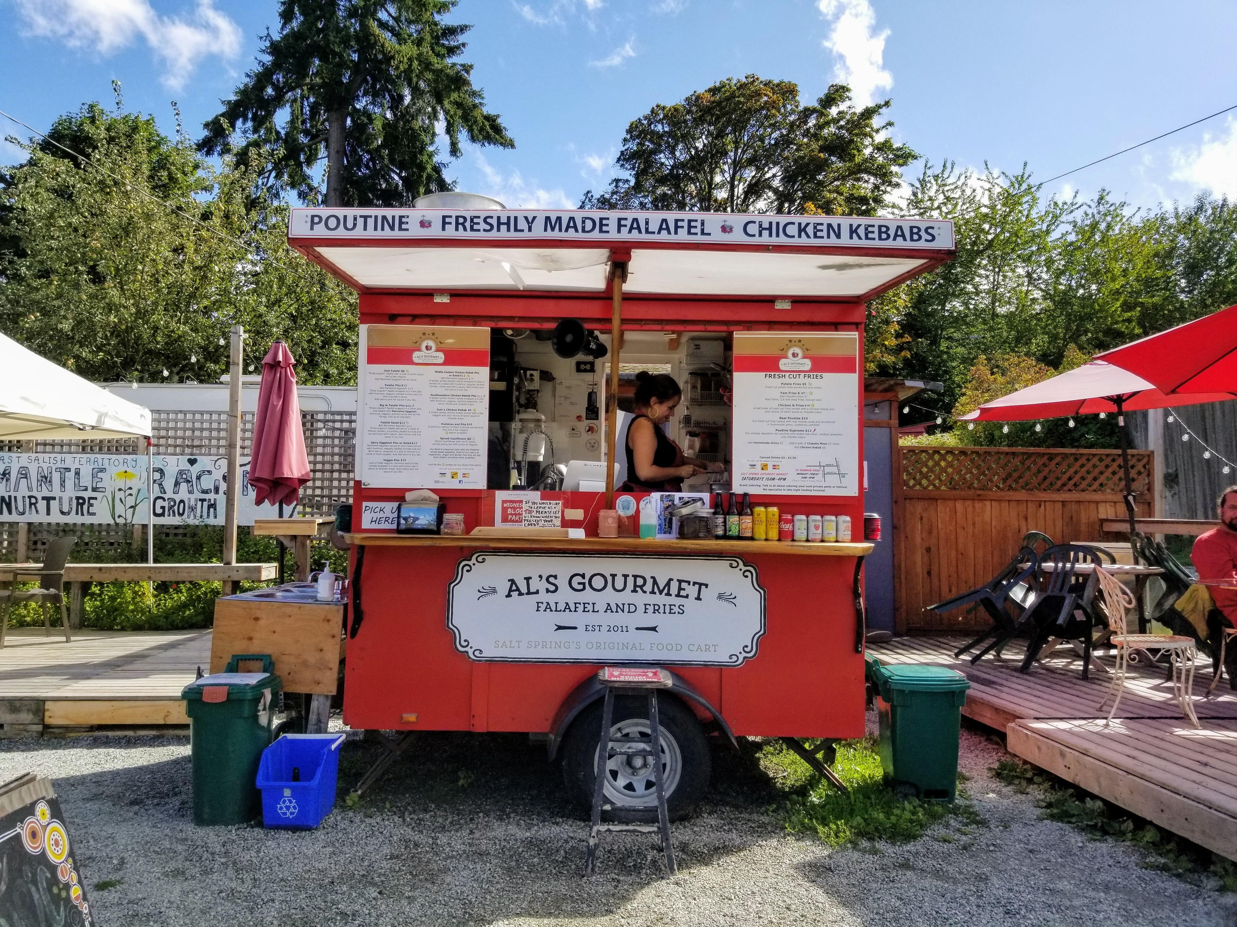 Al's Falafel and Fries Food Truck