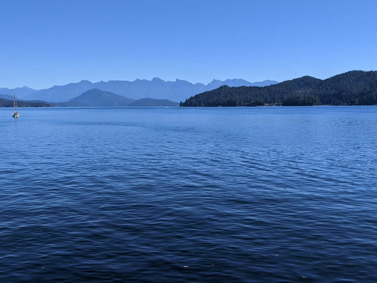 The Sunshine Coast: view from Gibsons