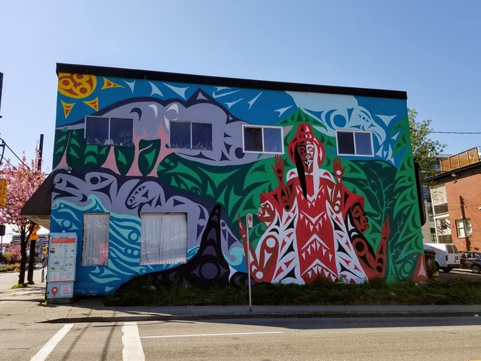 Mural in Mount Pleasant