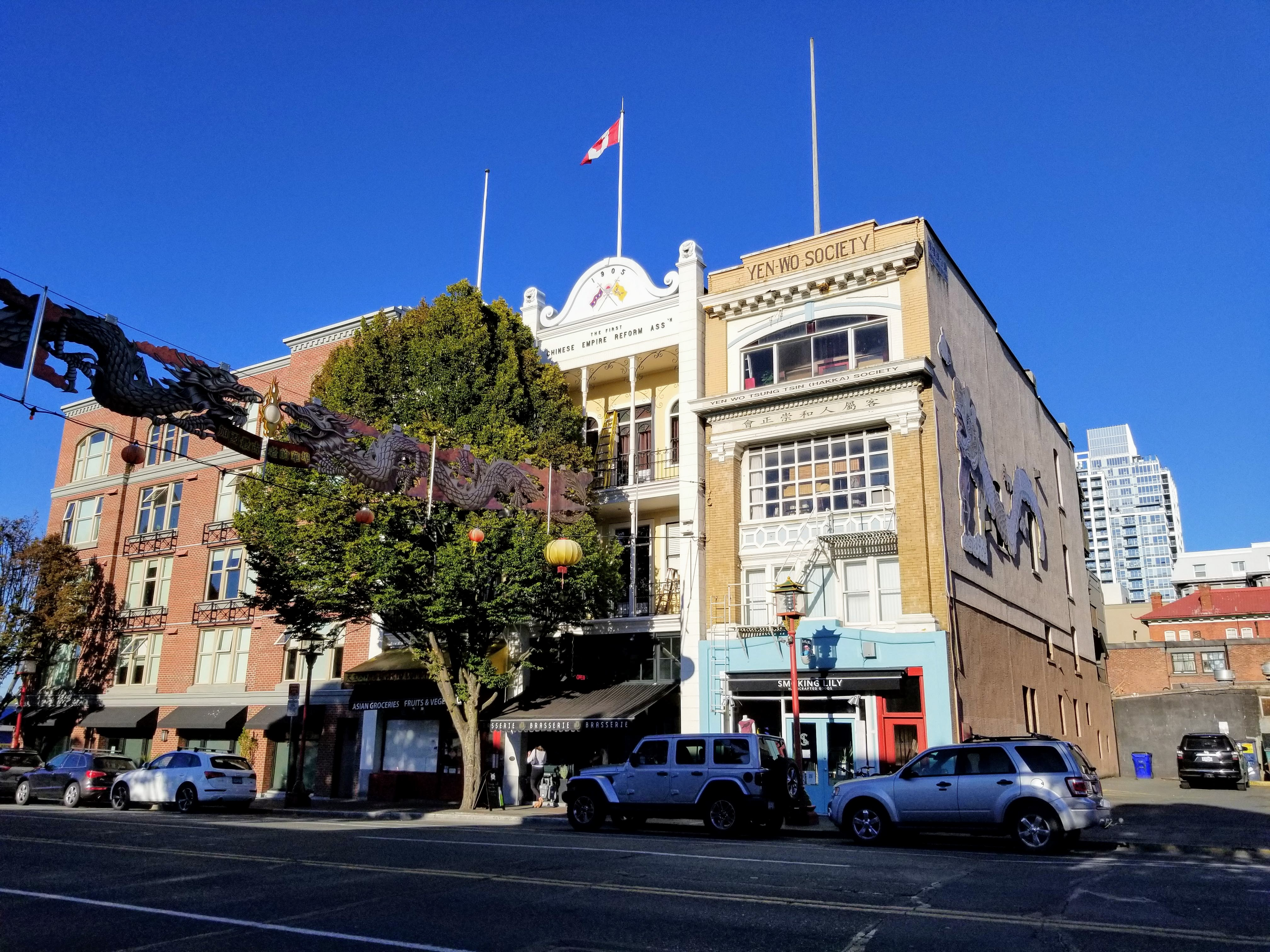 Downtown Victoria