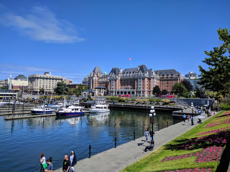 Victoria Harbour and the Fairmont Empress Hotel
