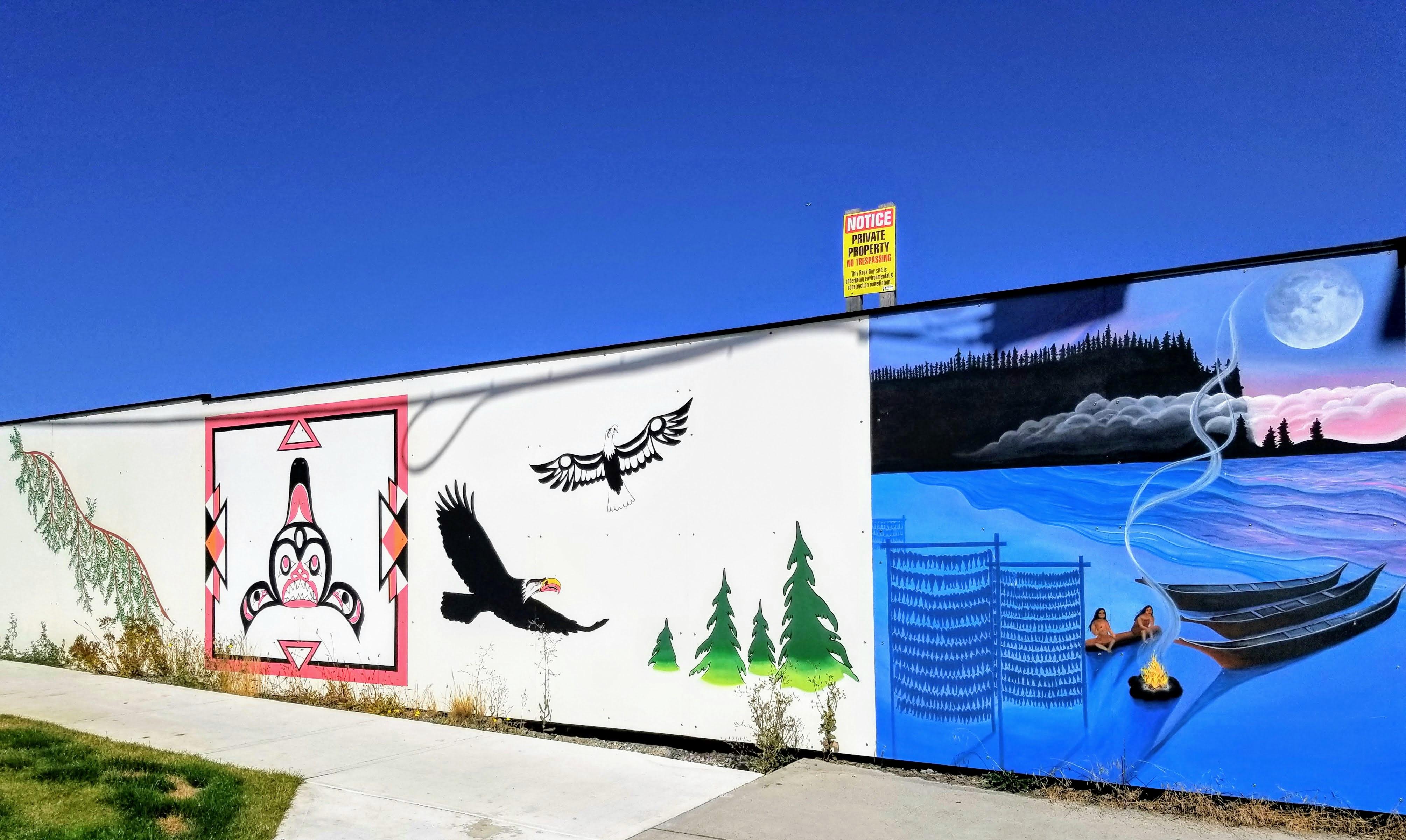 Mural in Victoria