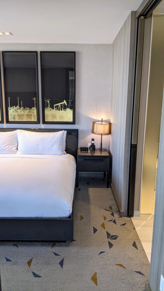 JW Marriott Edmonton ICE District Suite: Bed