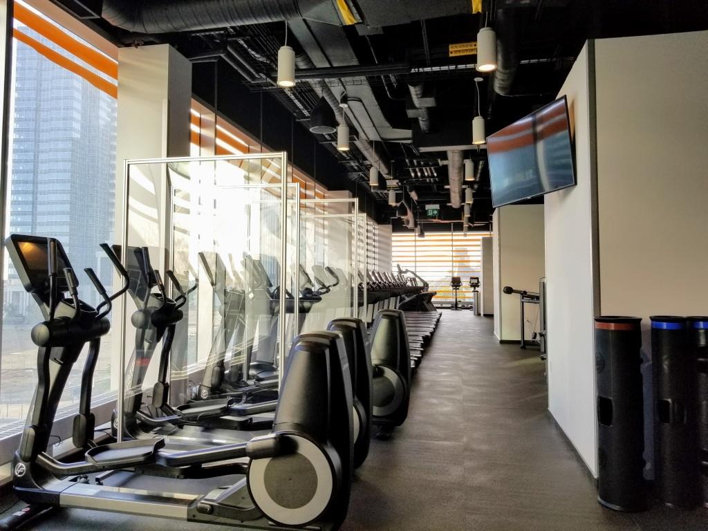 JW Marriott Edmonton ICE District: Gym