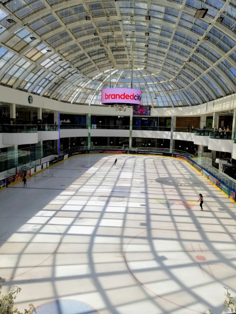 West Edmonton Mall: skating rink