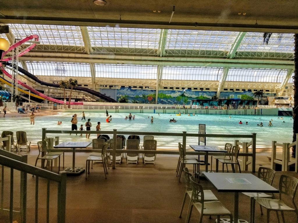 West Edmonton Mall: water park