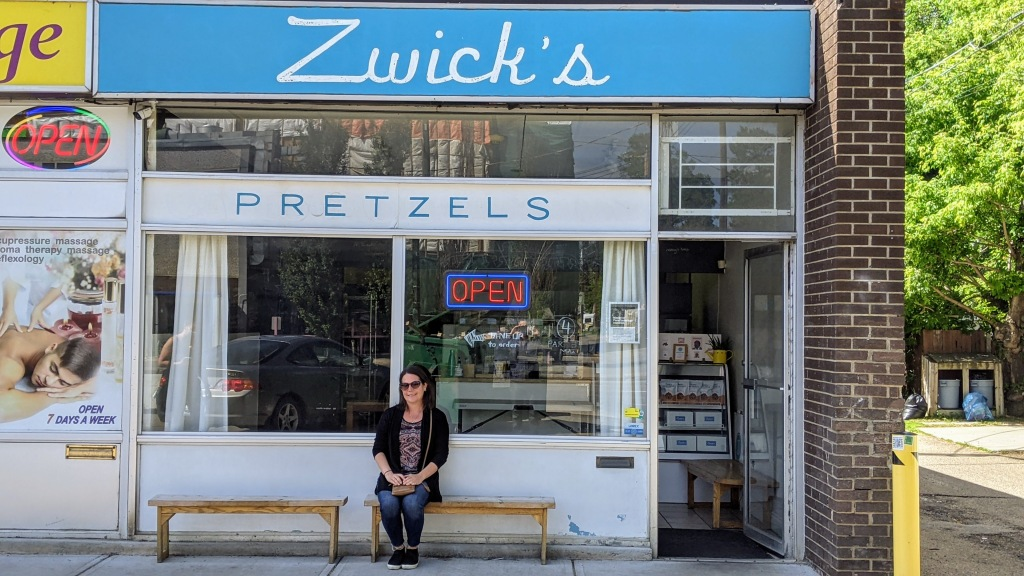 Max at Zwick's Pretzels
