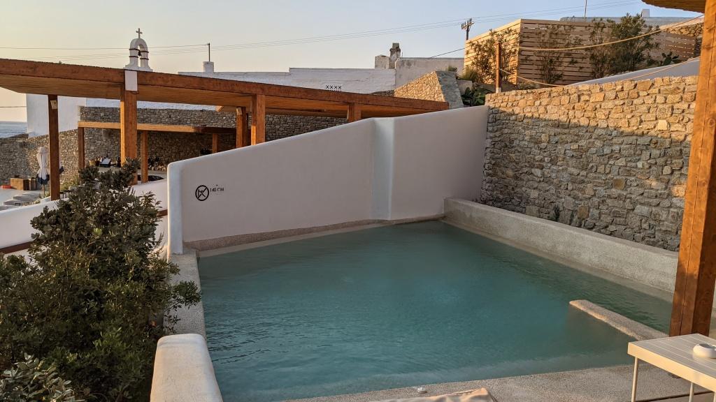 Aegon Mykonos Infinity Suite Revive: pool
