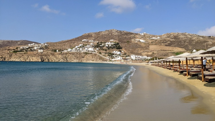 Aegon Mykonos: short walk to Kalo Livadi Beach