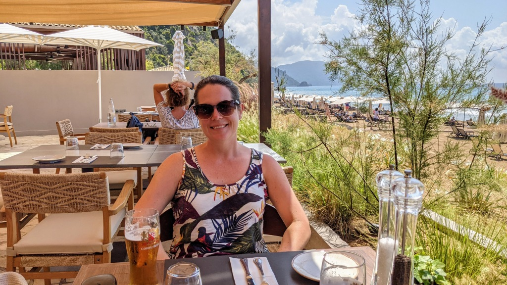 Lunch at Domes of Corfu: Max