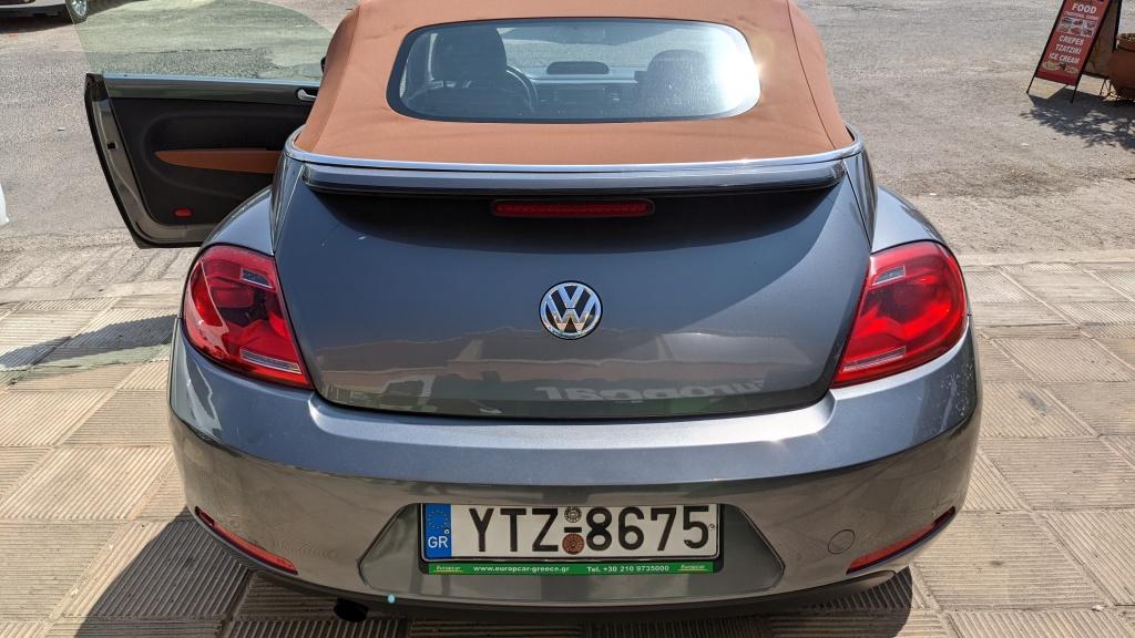 Europcar Upgrade: Volkswagen Beetle Vintage Convertible