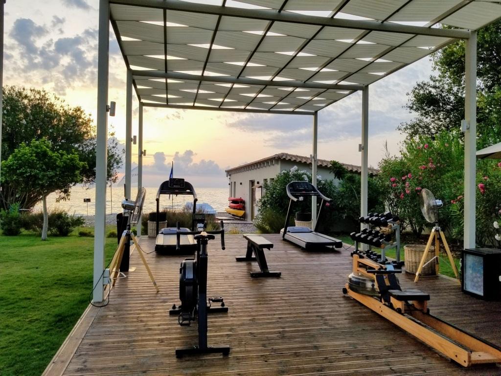 Domes Miramare Corfu: Outdoor gym