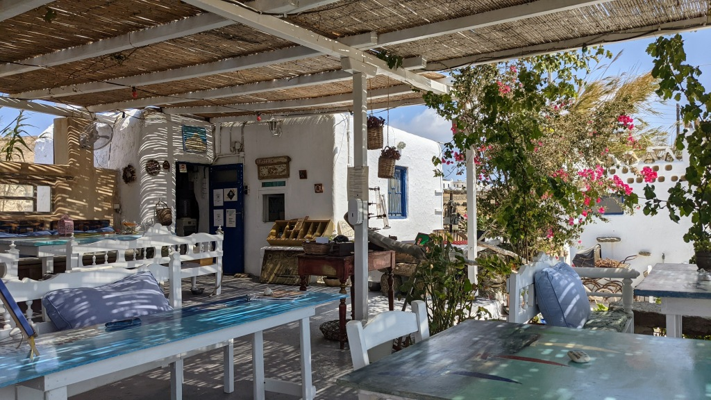 Vioma Organic Farm and Vineyard: Outdoor seating