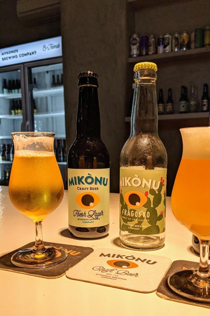 Mikonos Brewing: beer tasting