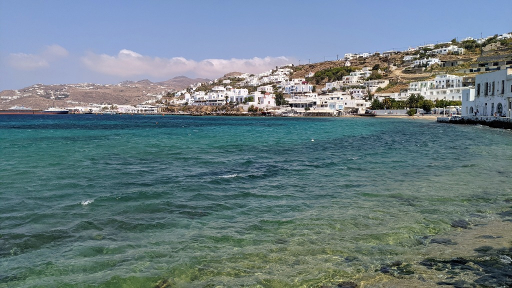 Mykonos Town: by the water